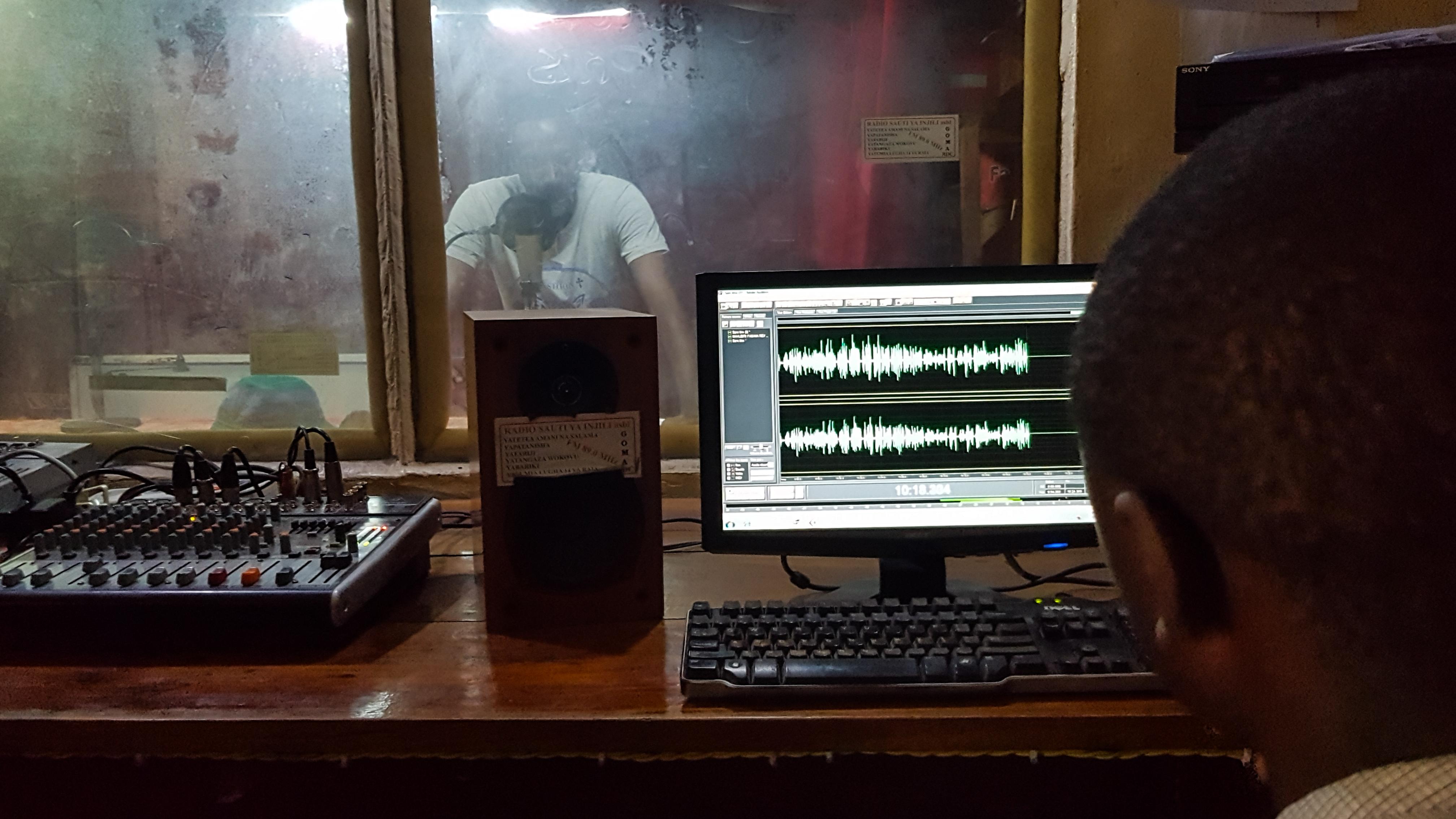 DRC GOMA radio station