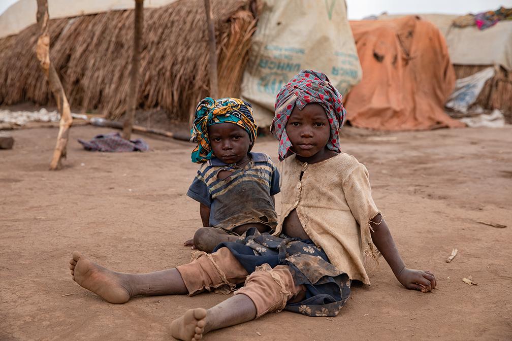 UNICEF RDC IDP Ituri Camp Loda